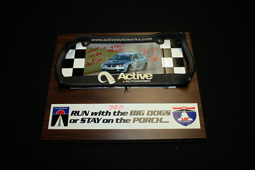 Active Autowerke best finishing BMW in OLOA race
